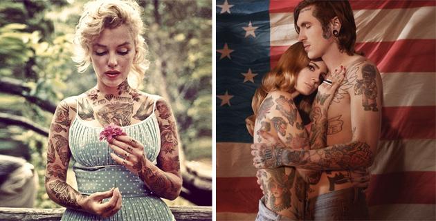 Inked celebs   Shopped Tattoos