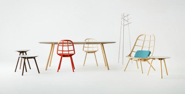 Nadia furniture | Jin Kuramoto