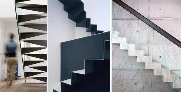 20 beautiful creative staircases