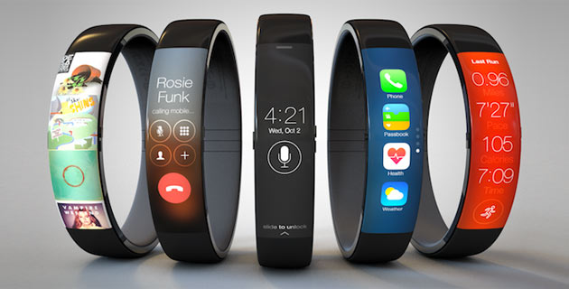 iWatch iOS 7 concept