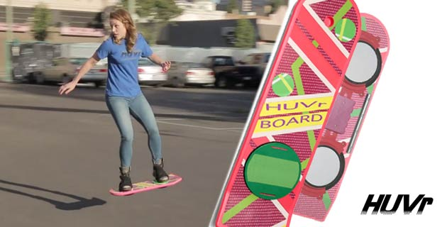 HUVr | The Back to the Future hoverboard