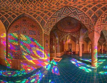 The Nasir al-mulk Mosque Colors