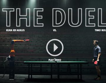 KUKA Robot vs. Timo Boll: The Duel