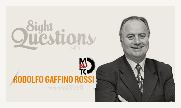 8 QUESTIONS WITH Rodolfo Gaffino Rossi  • Museo dell'automobile