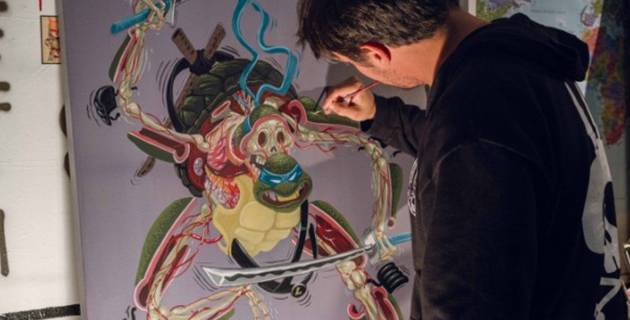 Ninja Turtles anatomy | Nychos