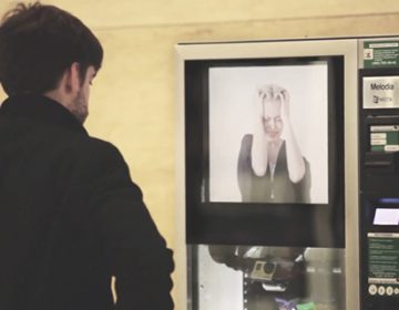 Vending Machine Reveals Domestic Abuse