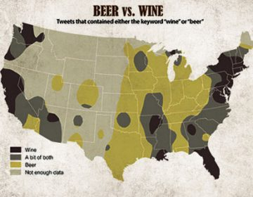 Cheap Beer Map of the United States