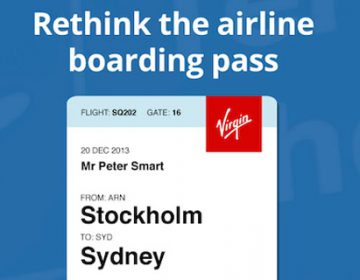 Redesign of the airline Boarding Pass