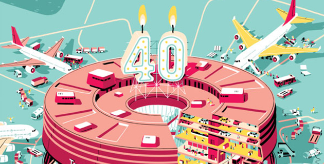 40 years of Charles de Gaulle Airport | Vincent Mahé