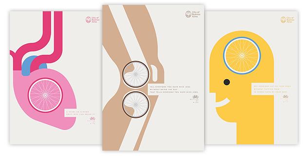 Better by Bike Posters Campaign | La Comunidad