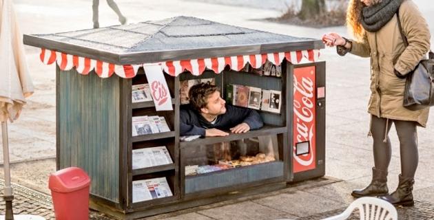Coca Cola mini kiosks | Ogilvy & Mather Berlin