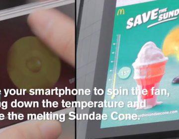 McDonald's | Save the Sundae Cone Billboard