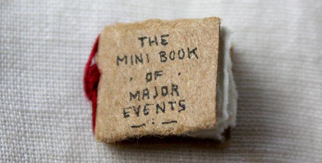 The Mini Book of Major Events | Evan Lorenzen
