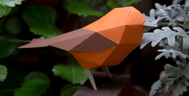 Geometric Paper Animals Sculptures | Estudio Guardabosques