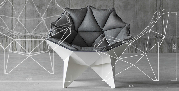 Q1 lounge chair | ODESD2