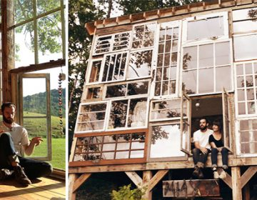 The Recycled Windows House