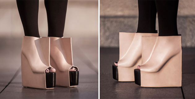 Rectangle shoes | M. N. Vaclavek
