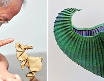Surface to Structure: An Origami Exhibition Featuring 80 Paper Artists