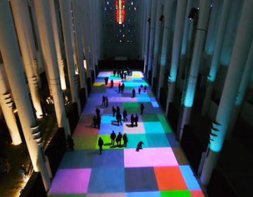 Magic Carpet Interactive Installation