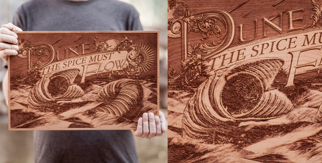 Wooden Movie Posters | SpaceWolf ltd.