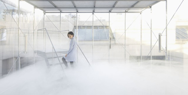 Artificial Cloud installation | Tetsuo Kondo Architects