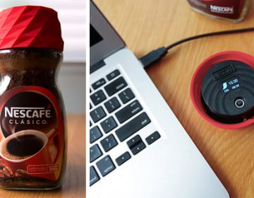 3D-Printed Coffee Jar Lid and Alarm Clock | Nescafé