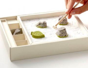 Zen Rock Garden Japanese Sweets