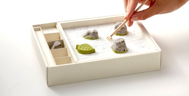 Zen Rock Garden Japanese Sweets