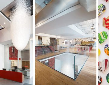 Coca – Cola HQ interior design in London |  MoreySmith