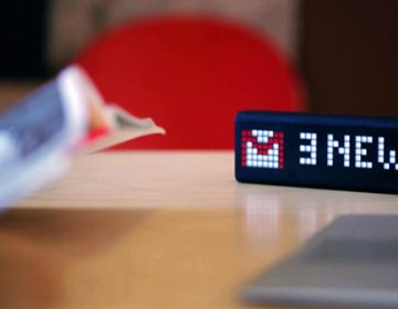 LaMetric smart display | Studio Smart Atoms