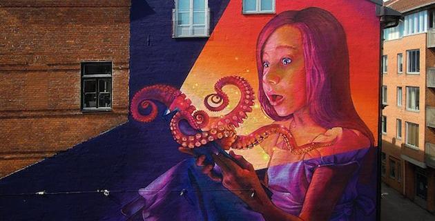 Street Art Murals by Natalia Rak