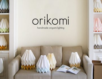 Orikomi Origami Lighting | blaanc
