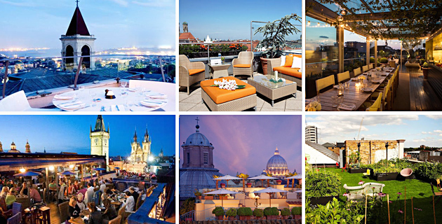 15 Best Rooftop Bars in Europe