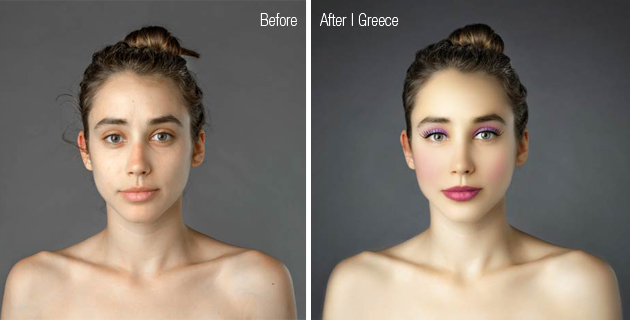 Retouched beauty through cultural standards | Esther Honig
