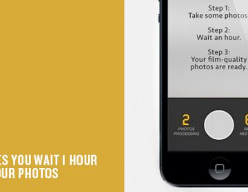 App Makes You Wait To See Your Snaps | 1-Hour Photo