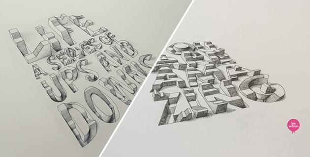 3D Typography | Lex Wilson