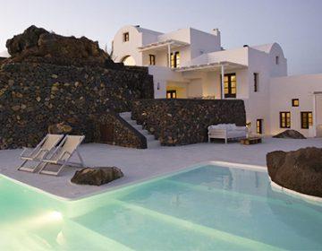 Aenaon Villas in Santorini