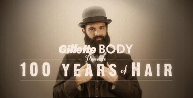 Gillette Body: 100 years of hair