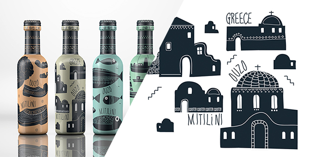 Ouzo packaging design | Dolphins Communication Design