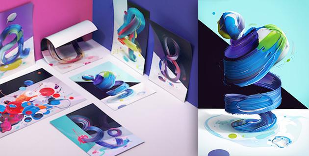 3D type posters | Pawel Nolbert