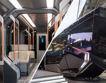 "New Moscow ""Russia One"" trams"