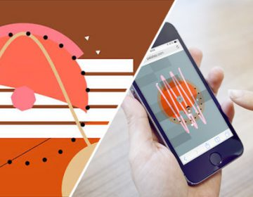 Sound app for making musical graphics | Patatap
