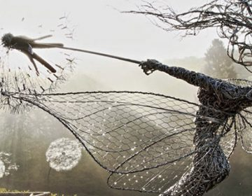 Dramatic Stainless Steel Wire Fairies | Robin Wight