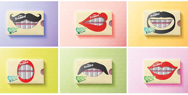 trident gum packaging | Hani Douaji