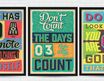 RETRO VINTAGE MOTIVATIONAL QUOTES #2 | VINTAGE VECTORS STUDIO