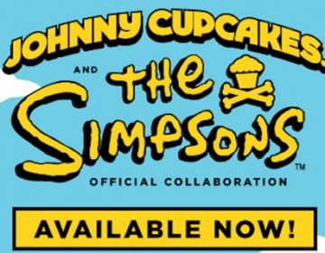 THE SIMPSONS X JOHNNY CUPCAKES