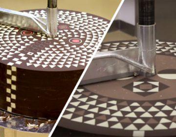 Geometric Chocolate Mill | Weiki Somers & Rafael Mutter