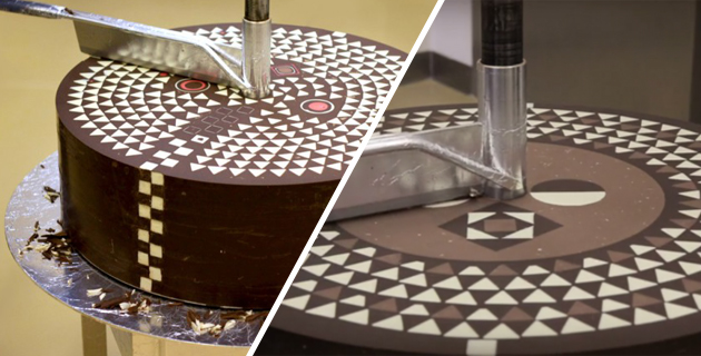 Geometric Chocolate Mill | Weiki Somers & Rafael Mutter