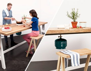 The Cooking Table | Moritz Putzier