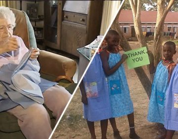 99-Year-Old Sews a Dress Every Day for African kids